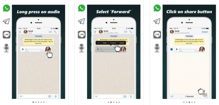 Voice Messages To Text Messages for iOS