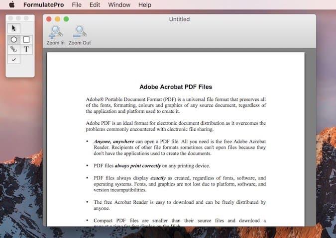 Formulate Pro - El mejor editor de PDF para Mac