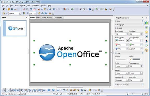 Apache Open Office Draw