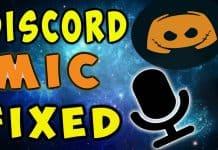 Fix Discord Mic
