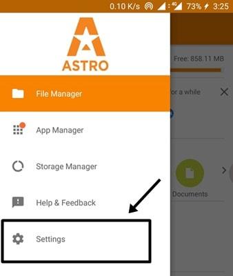 Cómo mostrar archivos ocultos en Android