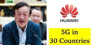 Huawei Acquired 46 Commercial Contracts For 5G Connection From 30 Countries