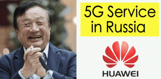 Huawei is All Set to Offer 5G Services in Russia