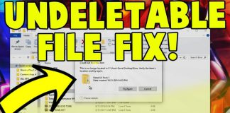 Delete Undeletable Files and Folders in Windows