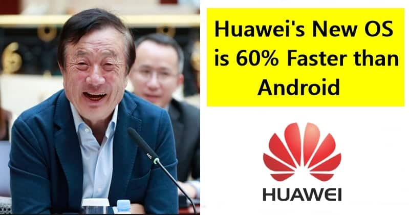 Huawei's New OS is 60% Faster than Android