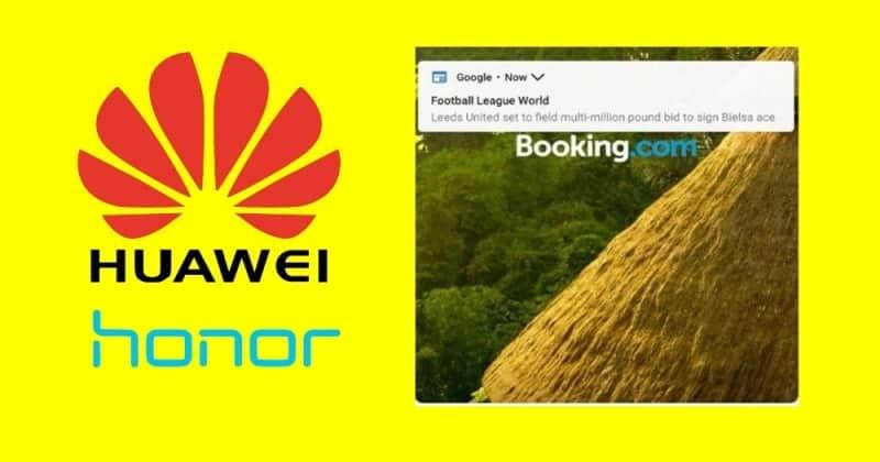 Huawei Got Rid of Lock Screen Ad