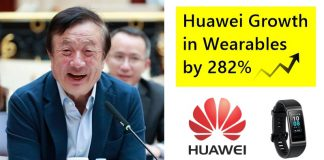Huawei Witnessed Huge Growth in Wearables Market