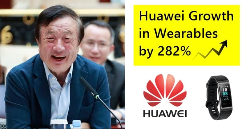 Huawei Witnessed Huge Growth in Wearables Market