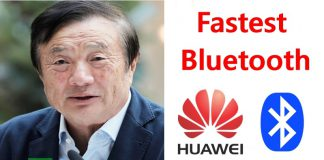 Huawei is Coming Up With Super High Speed Bluetooth Technology