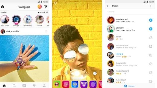 Instagram Focus Effect