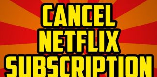Netflix Subscription Cancellation