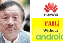 Android's Absence in Mobiles is Going To Create Big Problem For Huawei