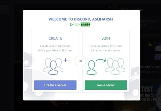 Create a Server