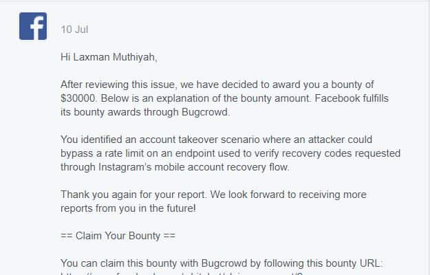Instagram Bug Bounty