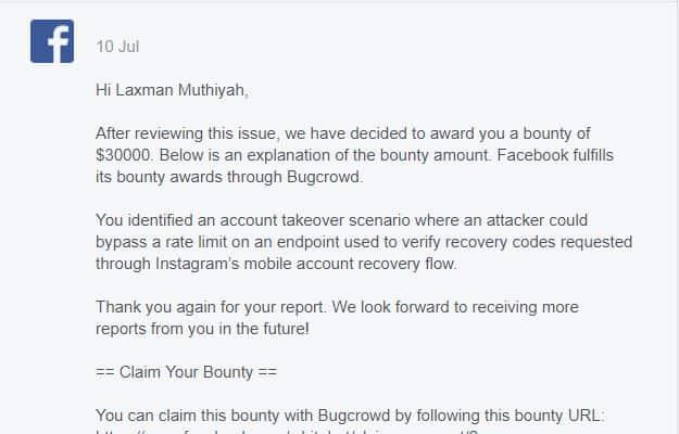 Instagram Bug Bounty