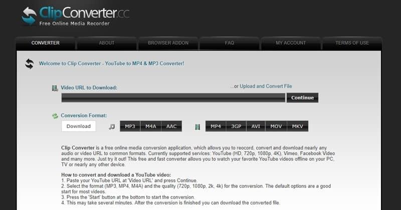 ClipConverter Alternatives