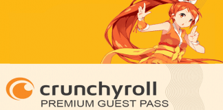 Get a Crunchyroll Guest Pass