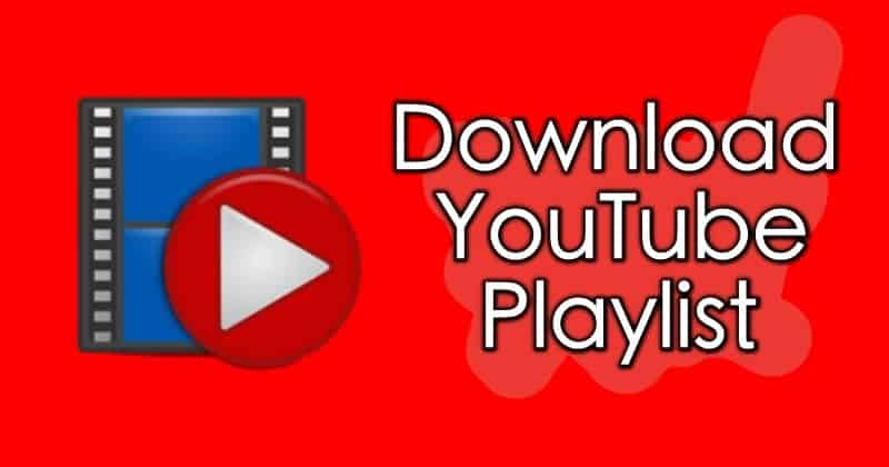Download a YouTube Playlist and MP3
