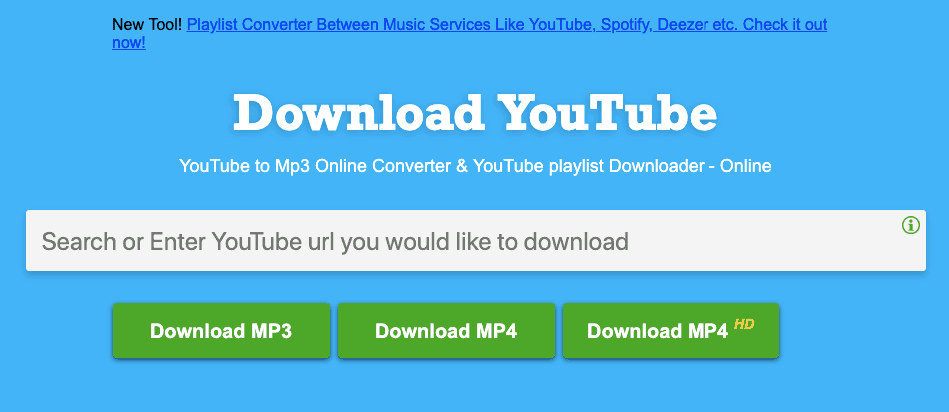 Download Youtube Playlist Using Youtube to Mp3 Site