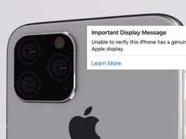 Apple Will Tell You if Your Repaired Display is Genuine or Not!