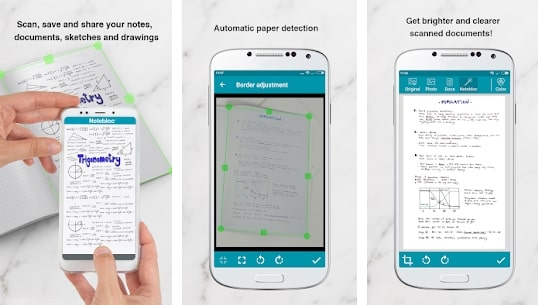 Notebloc PDF Scanner App - Scan, save & share