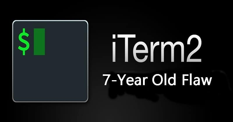 iTerm macOS Terminal has a 7-Year Old Flaw in It