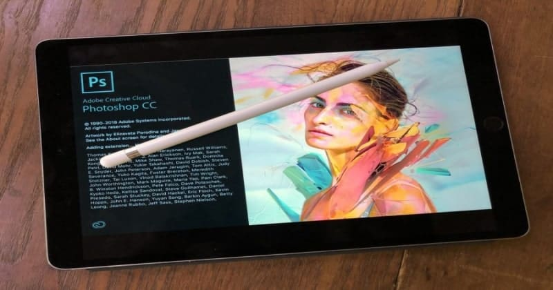 Adobe's Photoshop Launched For iPad. Comes With 30-Day Trail Version.