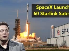 SpaceX launches 60 Starlink Satellites in a Single Falcon Rocket