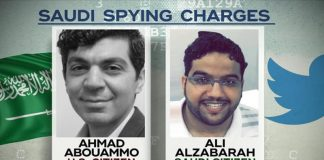 Three Twitter Ex-employees Arrested for Spying on Saudi Dissidents.