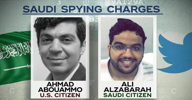 Twitter Ex-employees Arrested for Spying on Saudi Dissidents.