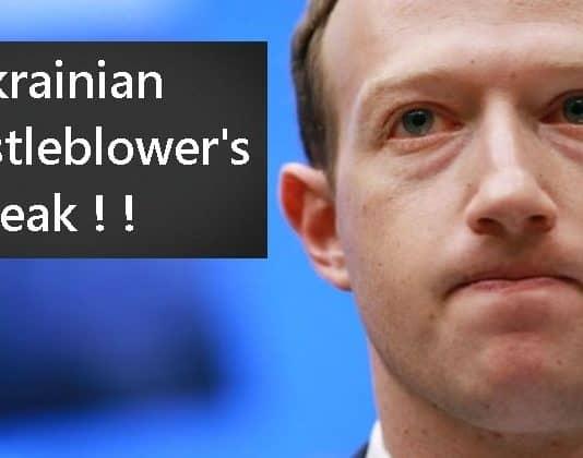 Facebook to Take Steps Against Ukrainian Whistleblower's Leak: Zuckerberg