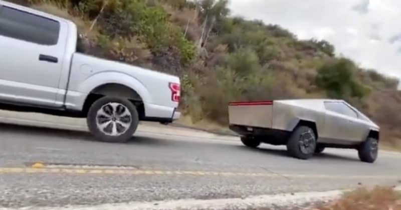 Tesla Vs Ford F-150 Rematch