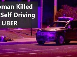 Uber's Self Driving Car killed a Woman in Arizona