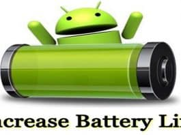 Increase Your Android Battery Life