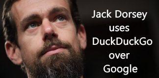 Jack Dorsey Uses DuckDuckGo