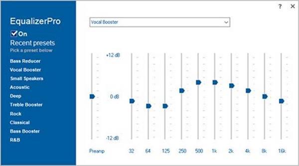 أفضل معادلات الصوت للويندوز 10 لتحسين الصوت