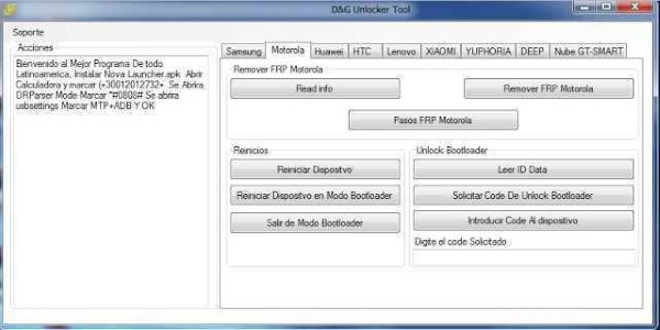 D&G Password Unlocker