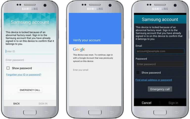 Samsung Reactivation Lock\FRP Removal Service