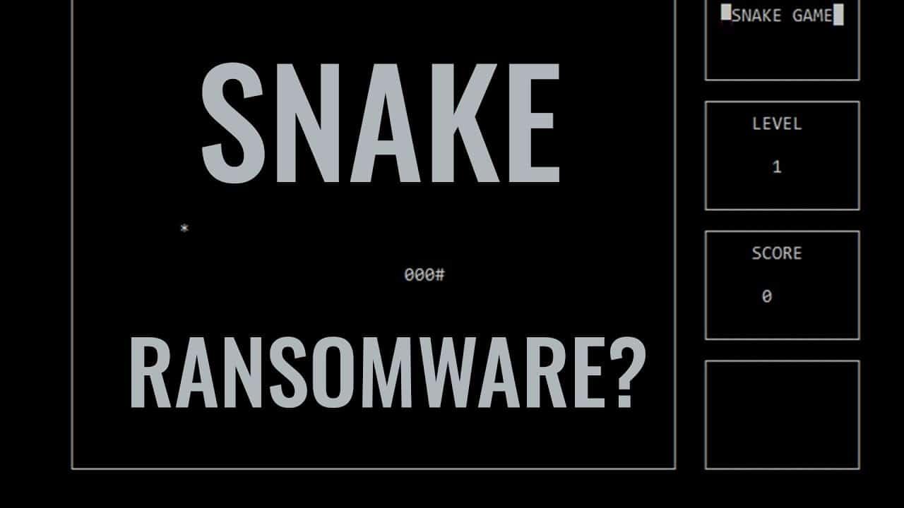 Snake Ransomware
