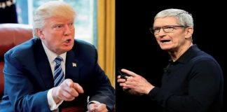 Trump Accused Apple For Being Unsupportive In Criminal Investigations