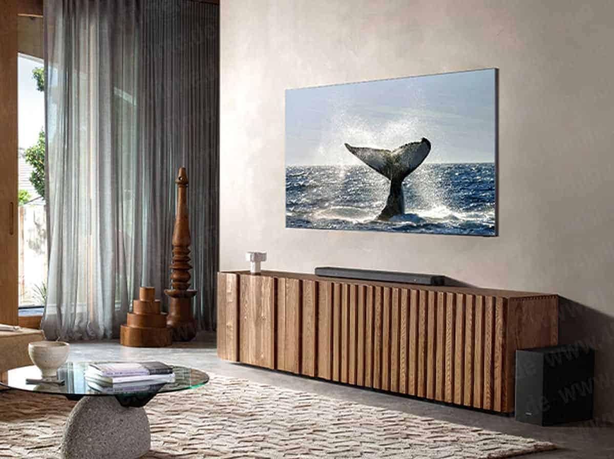 Se filtran las primeras imágenes del televisor 8K QLED de Samsung
