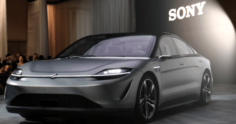 Sony's Electric Vehicle Vision S Surprised Everyone More Than PS5