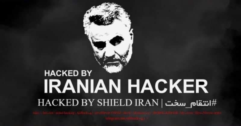 Iran's Hacker Group Hacked US Government Website In Revenge For Soleimani's Kill