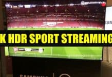 8K HDR SPORT STREAMING