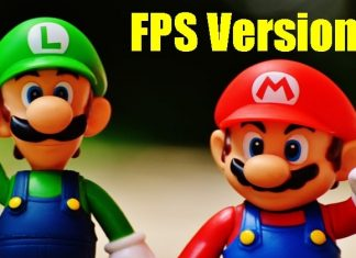 A Man Transformed Super Mario Bros into FPS Version Game for a Challenge