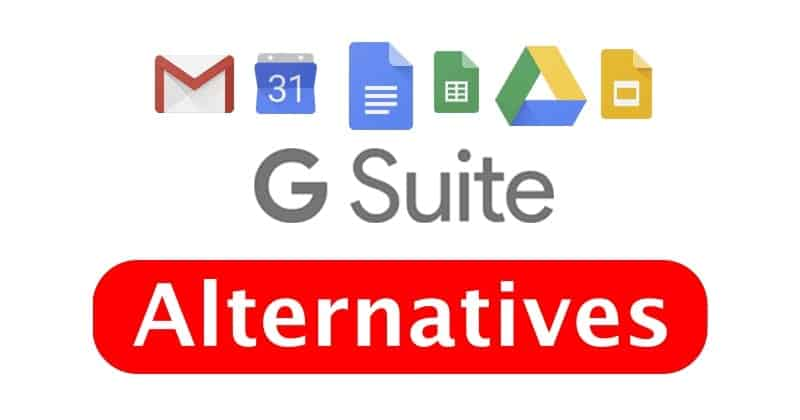 Best G Suite Alternatives