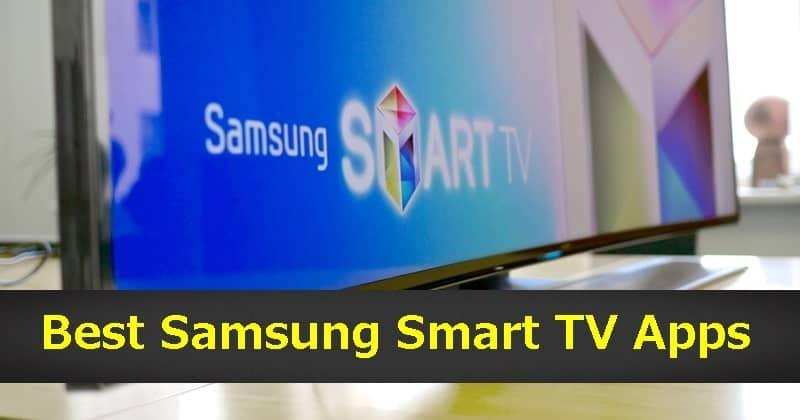 Las mejores aplicaciones de Samsung Smart TV