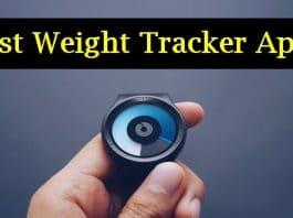 Best Weight Tracker Apps