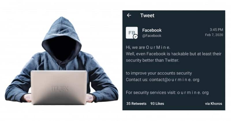 OurMine Group Hacked Facebook's Twitter and Instagram Accounts