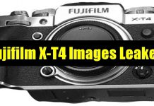 Fujifilm X-T4 leaked images